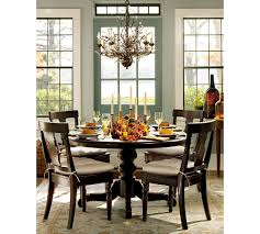 innovative chandelier for round dining table what size chandelier