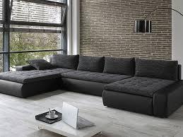 sofa anthrazit wohnlandschaft cayenne 389x212 162cm anthrazit schwarz sofa