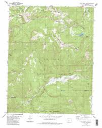 Alamosa Colorado Map by Wolf Creek Pass Topographic Map Co Usgs Topo Quad 37106d7