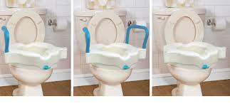 siège toilette surélevé siège de toilette surélevé 3 en 1 par aquasense aquasense