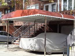 metal car porch carports long island free estimates at your home rightway awnings