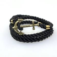 leather braided anchor bracelet images Cheap anchor bracelets for women find anchor bracelets for women jpg