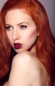 redhead into the red
