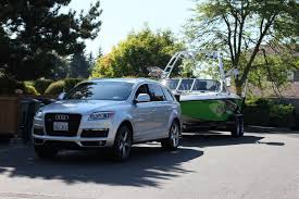 audi q7 towing package anybody tow with an audi q7 boats accessories tow vehicles