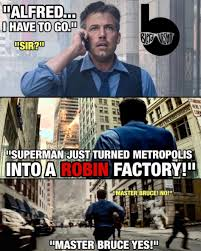 Batman And Robin Memes - robin factory meme dc cinematic