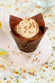 caramel frosting with brown sugar and cream