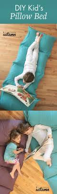 pillow beds for kids how to make a kids pillow bed the easiest cheapest way