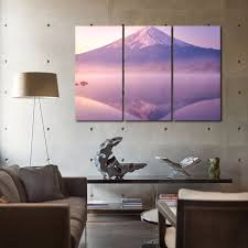 Wall Art Paintings For Living Room Online Get Cheap Volcano Canvas Aliexpress Com Alibaba Group