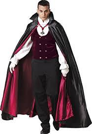 Mens Halloween Costumes Amazon Amazon Incharacter Costumes Men U0027s Gothic Vampire Costume