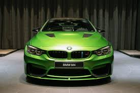 java green bmw тюнинг спорт купе bmw m4 coupe java green вид спереди автосалон