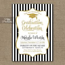 online graduation invitations black and gold graduation invitations which free to