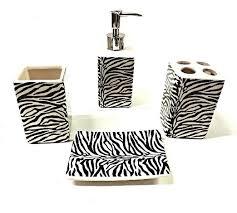 cheap zebra print bathroom set find zebra print bathroom set
