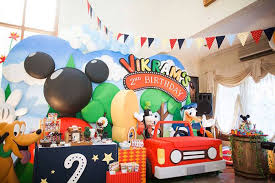 mickey mouse clubhouse party decor journey s 1st birthday mickey mouse