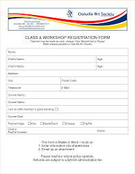 bunch ideas of 3 form templates word marvelous event registration