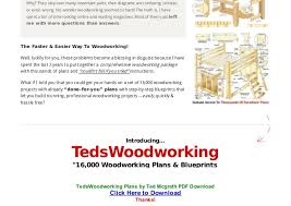 Woodworking Magazines Online Free by Teds Woodworking Plans By Ted Mcgrath Pdf