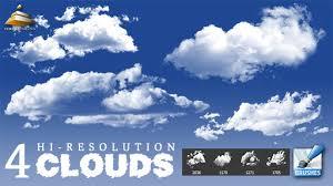 4 hi res clouds brushes by hjr designs on deviantart