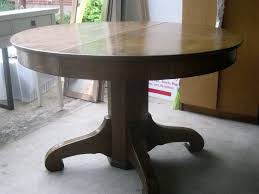 Pedestal Table For Sale Table Wonderful Antique Round Oak Pedestal Table Starrkingschool