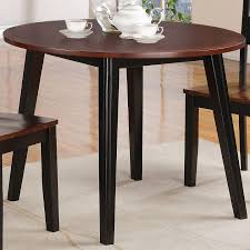 holland house 8202 round drop leaf table with splayed legs royal