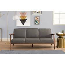 my futon sinks in the middle better homes and gardens flynn mid century futon multiple colors