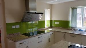 Splashback Ideas For Kitchens Bespoke Glass Kitchen Splashbacks Coloured Glass Splashbacks