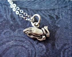 praying necklace pray necklace etsy