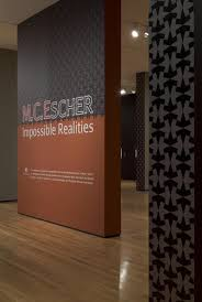 b extended b m c escher impossible realities akron museum