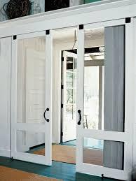 Sliding Screen Patio Door 10 Ways To Work Screen Doors Inside And Out 10 Photos Houzz