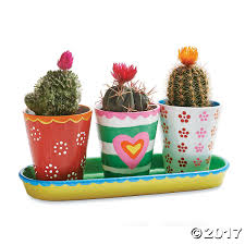 Flower Pots - paint your own porcelain flower pots