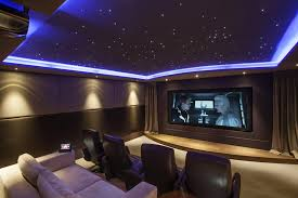 small home theaters cool and contemporary this contemporary home theater best images
