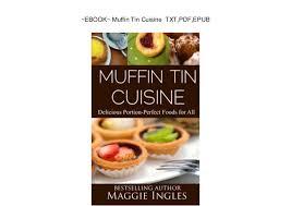 ebook cuisine ebook muffin tin cuisine txt pdf epub
