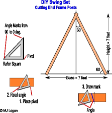 a frame plans free plans for building an a frame swing set wood burning pattern