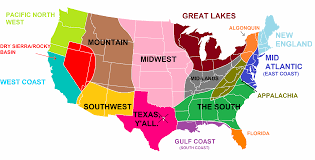 Map Of United States East Coast by The Midwest Region Map Map Of Midwestern United States Us Regions