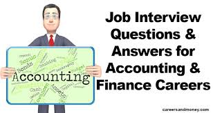 job interview personality questions job interview questions and answers for accounting and finance
