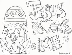 easter coloring page religious doodles pinterest easter