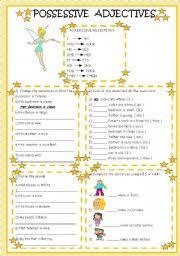 english worksheets possessive worksheets page 11