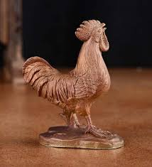 lucky rooster desk ornaments for lunar calender zodiac