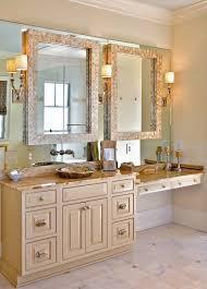 Bathroom Vanity Mirror Midcentury Modern Ranch Master Bath - Bathroom mirrors for double vanity