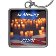 In Memory Of Keychains 9 11 Keychains Zazzle