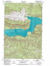 Seattle Topographic Map by Lake Crescent Topographic Map Wa Usgs Topo Quad 48123a7
