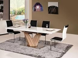 Esszimmergruppe Nussbaum Tisch Set 7 Teilig Esstisch 6 Stühle Hochglanz Real