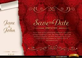 marriage invitation marriage invitation vector with ribbon free vectors ui
