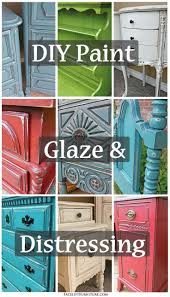 use paint glaze u0026 distressing to transform your furniture new