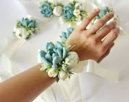corsage prices succulent corsage etsy