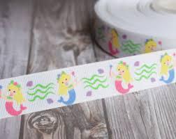 mermaid ribbon mermaid ribbon etsy