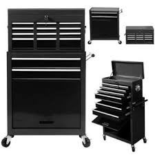 rolling tool storage cabinets goplus portable top chest rolling tool storage cabinet organizer 6