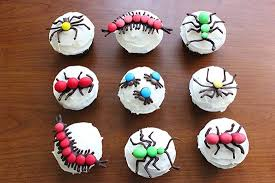 hello cupcake toppers bug cupcakes