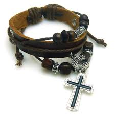 christian bracelet christian leather bracelets the witness