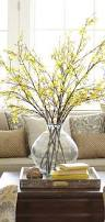 faux forsythia branch spring home decor home decor