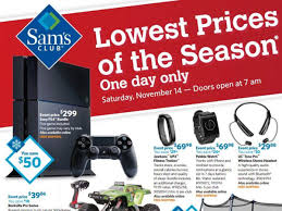 black friday sam s club sets nov 14 for 1st pre