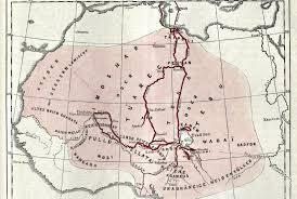 Vasco Da Gama Route Map by Barths Route Petermann 1 Jpg